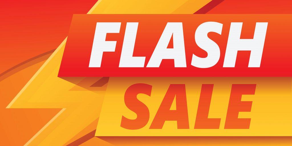 flash sale btech